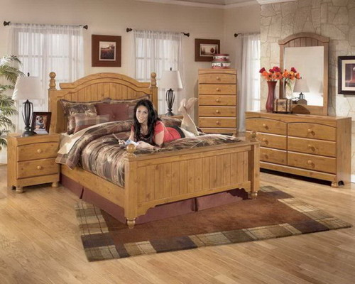 Rustic wood bedroom furniture furniture design ideas for Rustic elegant bedroom