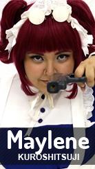 Cosplay Maylene de Kuroshitsuji por Mitali
