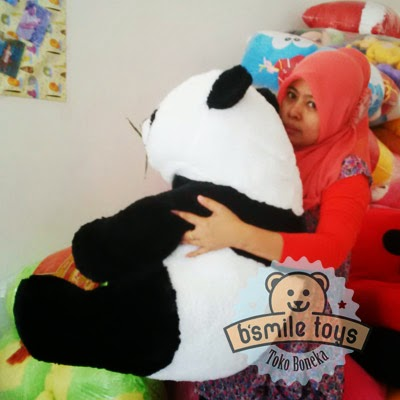 jual boneka panda besar lucu