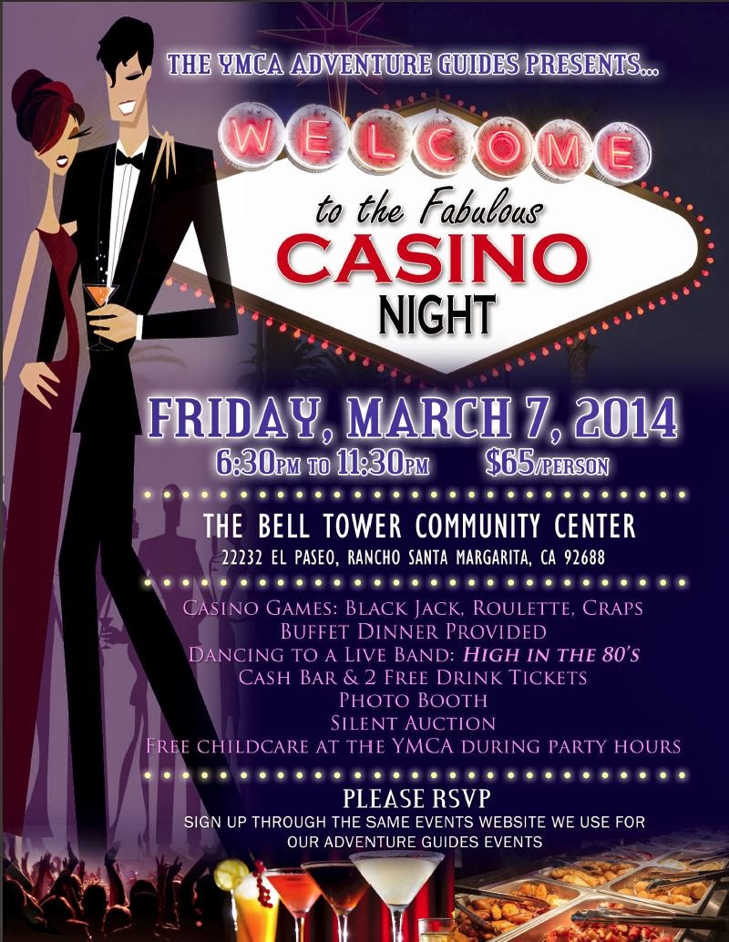 2014 Casino Night Fundraiser