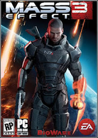 capa Filme Mass Effect 3 Game PC   FullRip Black Box