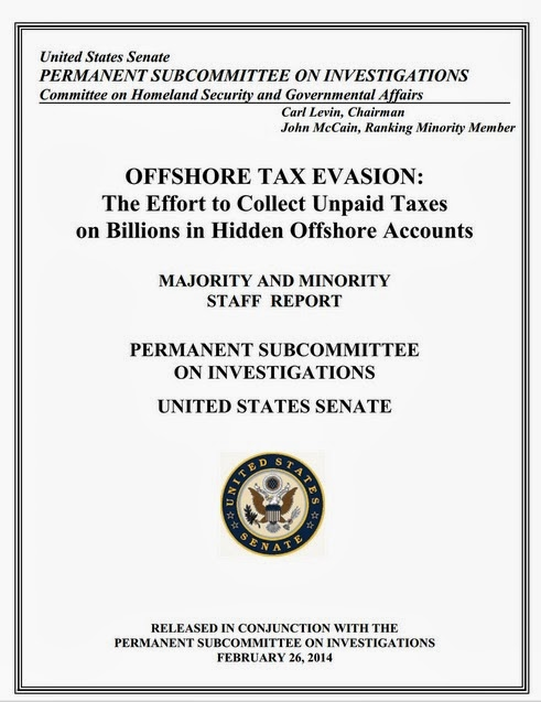 SENATE REPORT - OFFSHORE TAX EVASION