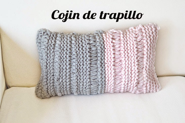 Cojines de trapillo for Cojines de trapillo