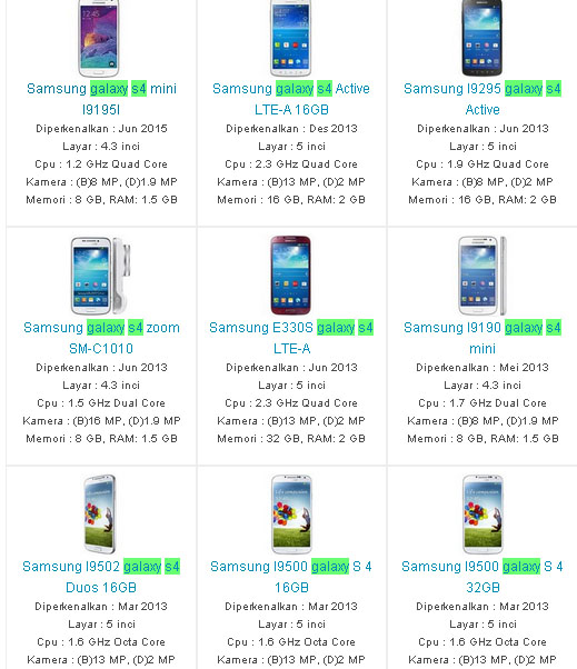 Daftar Harga Hp Samsung Galaxy S4 Terbaru 2016 Berita Pendidikan