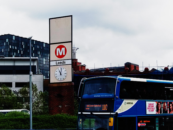 Leeds Bus Station Clock