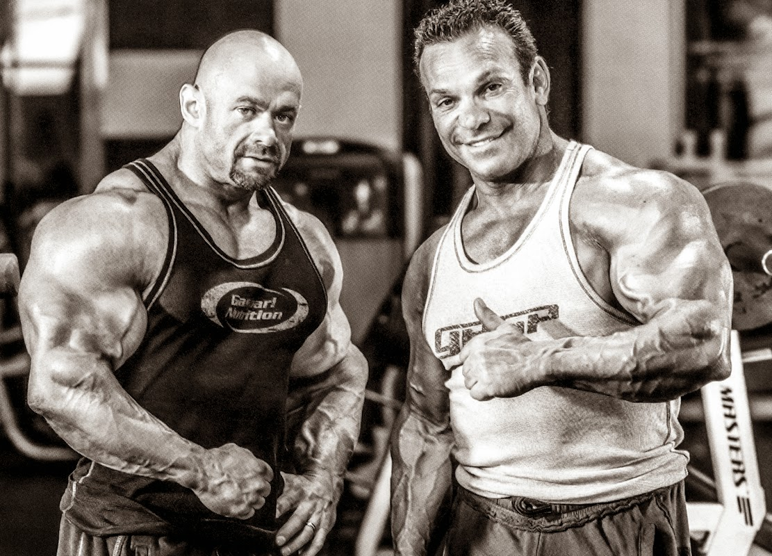 branch warren e rich gaspari in palestra.