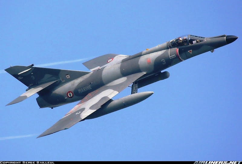 Dassault Super Etendard Strike Fighter jet