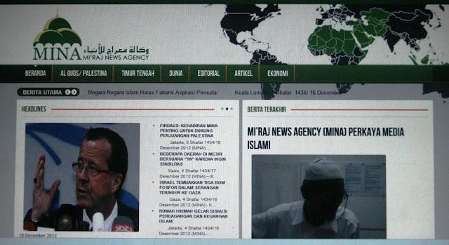 MINA, Kantor Berita Dunia Islam Pertama di Indonesia