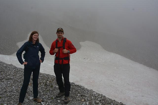 Bonanza Hike Kennicott guide Cody