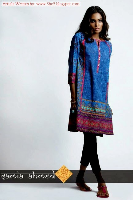 Samia Ahmed Midsummer Eid Collection 2014