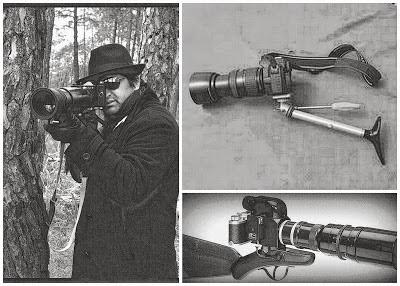 Franco-disparador fotográfico / Cacería fotográfica