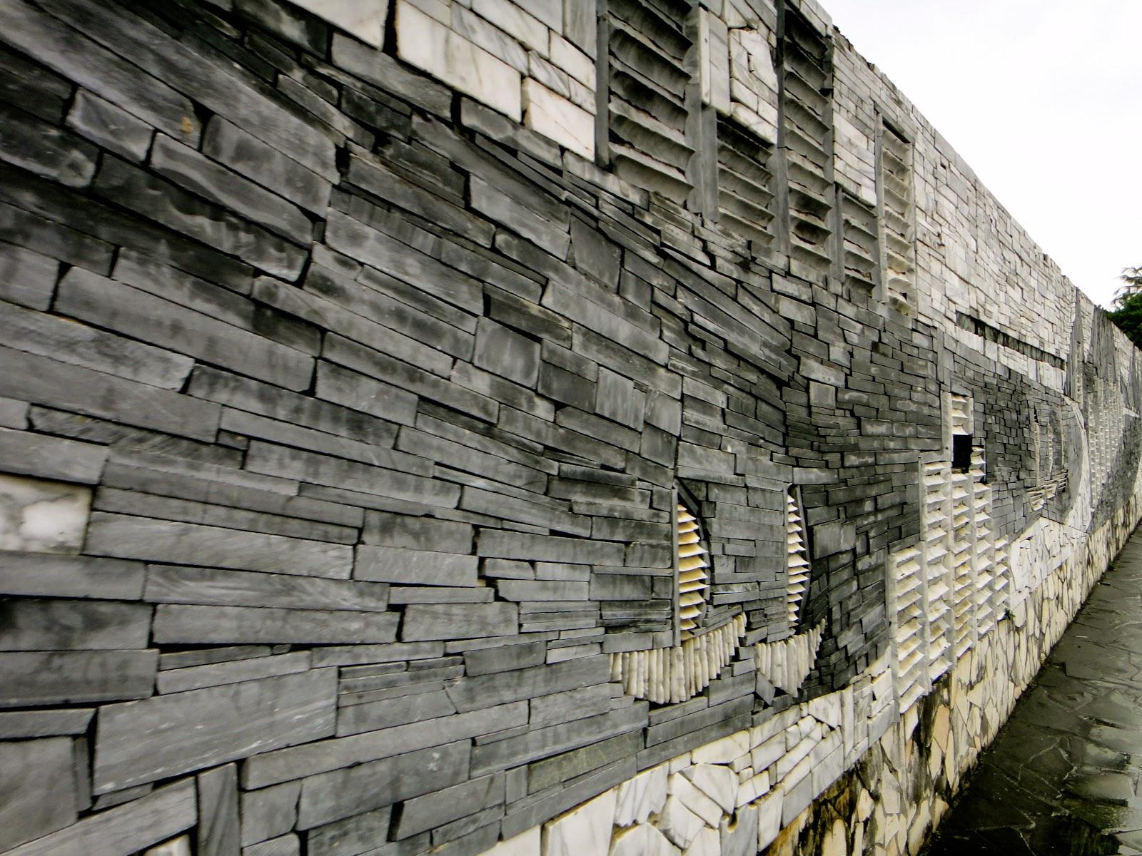 Artistic Wall in Hualien