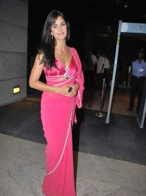katrina kaif hot saree pics