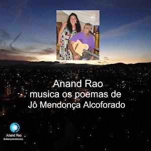 CD DE POEMAS MUSICADOS AO VIVO EM JOÃO PESSOA DE JÔ MENDONÇA ALCOFORADO E LANÇADO NA EUROPA.