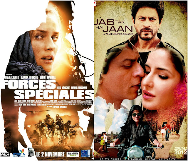 Indian Film Posters inspired from Foreign Movies - Part I