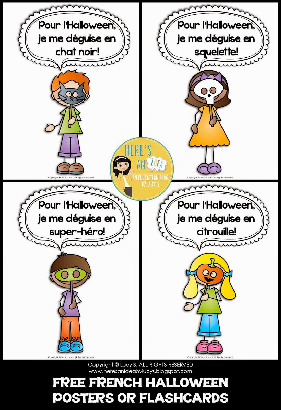 Voodoo School Worksheets : A la découverte de france halloween l héritage d une