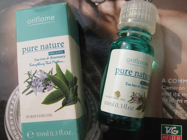 Oriflame+Tea+Tree+And+Rosemary+Purifying+Oil+Review