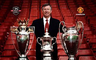 Manajer Manchester United Sir Alex Ferguson