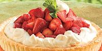 cara Instan membuat kue tart strawberry