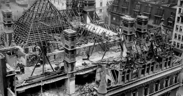The Gilded Age Era Demolition Of The Cornelius Vanderbilt