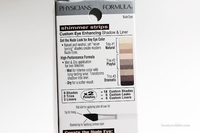 Physicians Formula Nude Eyes box