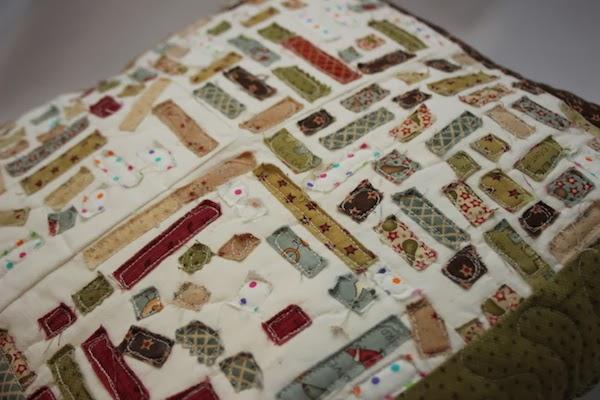 como usar los trozos de tela en el patchwork