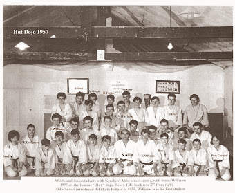 Abbe School of Budo -The Hut Dojo 1957