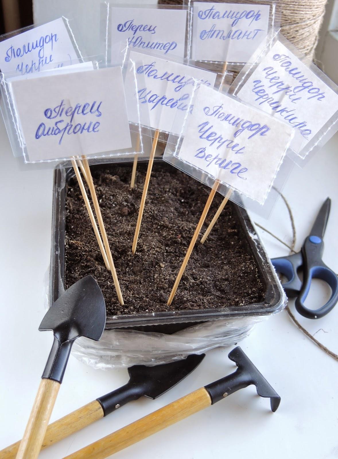 Для огорода, огород на окне, этикетки, таблички, таблички для грядки, названия овощей, таблички для грядок своими руками, табличка для грядок.