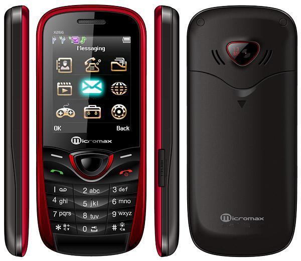 Micromax X266 Features
