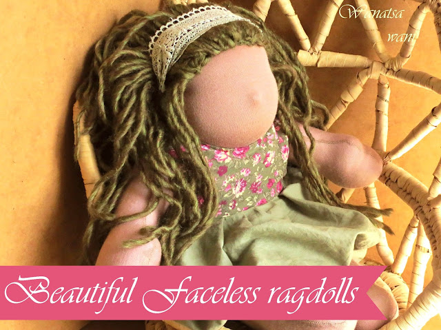 muslim dolls faceless