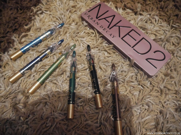 BEAUTY| TMART REVIEW FEATURING URBAN DECAY NAKED 2 PALETTE AND 6 COLOURED KOHL LINERS