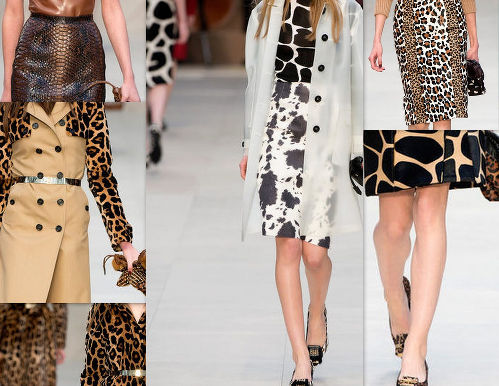 Mixing animal prints