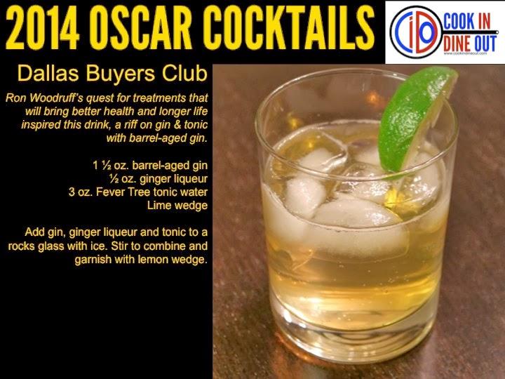 Oscar Cocktails Dallas Buyers Club
