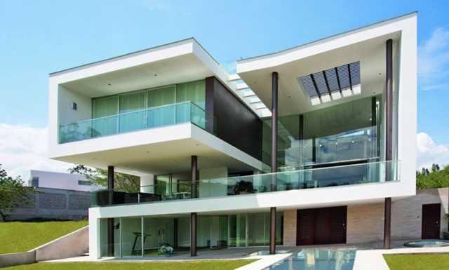 Casas modernas for Casa moderna 8