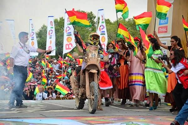 Rally Dakar 2018 en Bolivia