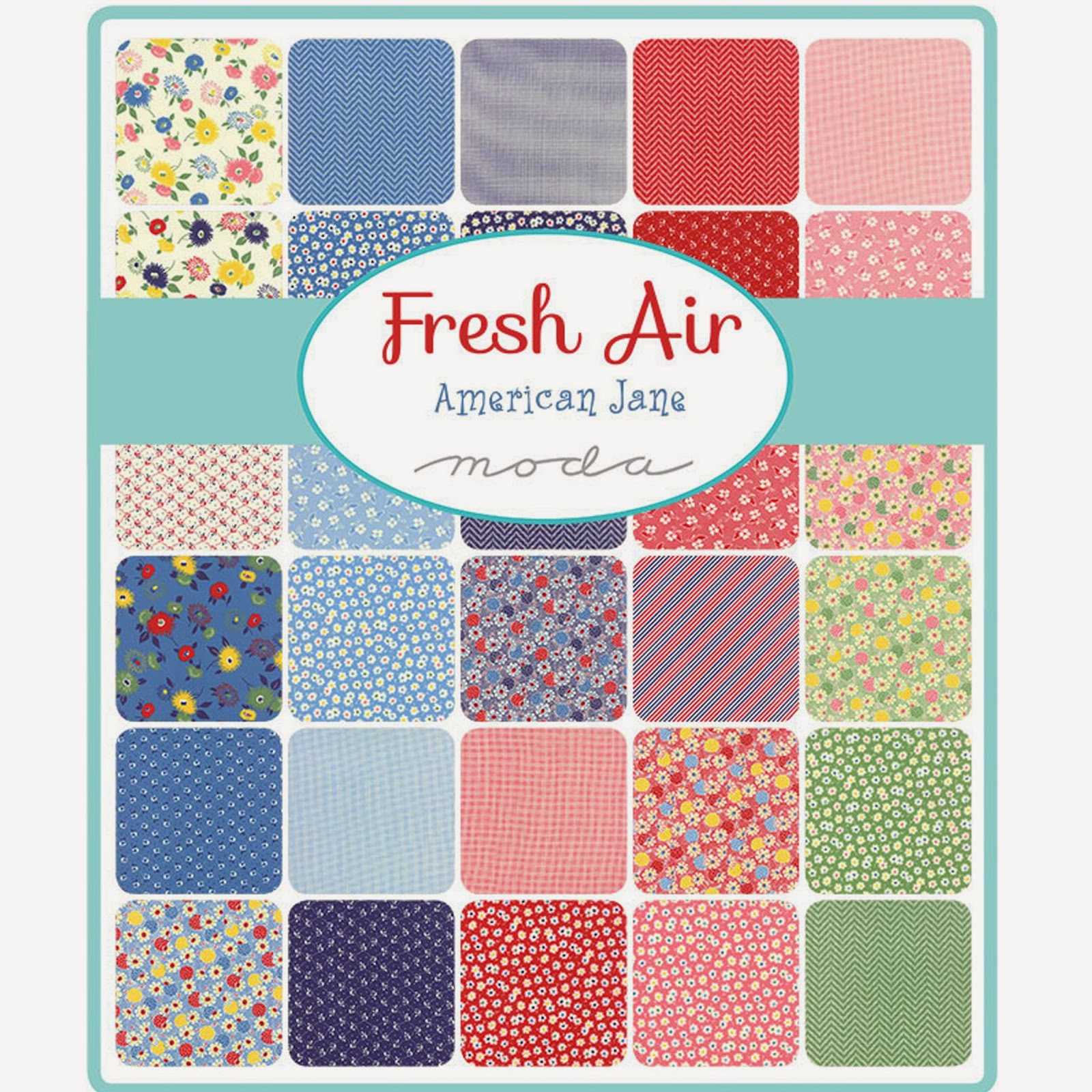 Moda FRESH AIR Fabric by American Jane for Moda Fabrics