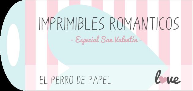 Imprimibles románticos para San Valentín