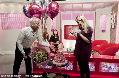 holly willoughby video