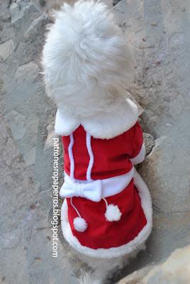 vestido navidad para mascota