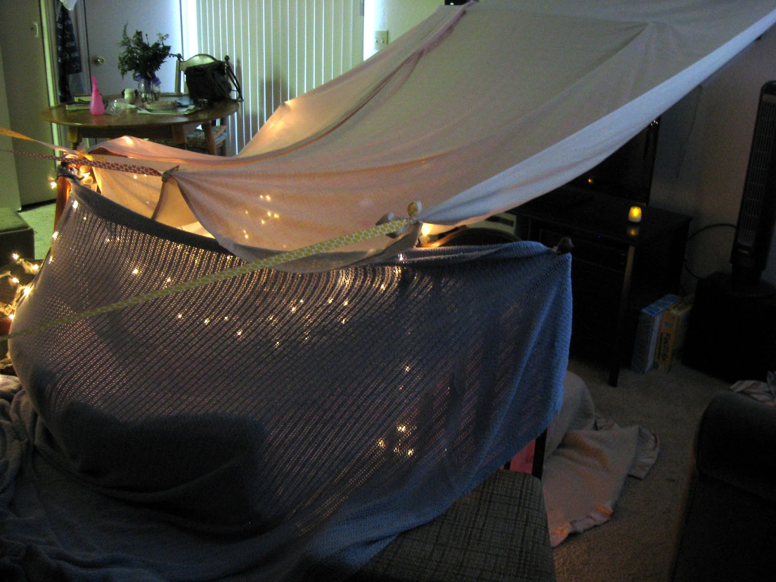 Date Night Idea Grown Up Tent & Passion Pink u0026 Pearls: Date Night Idea: Grown Up Tent