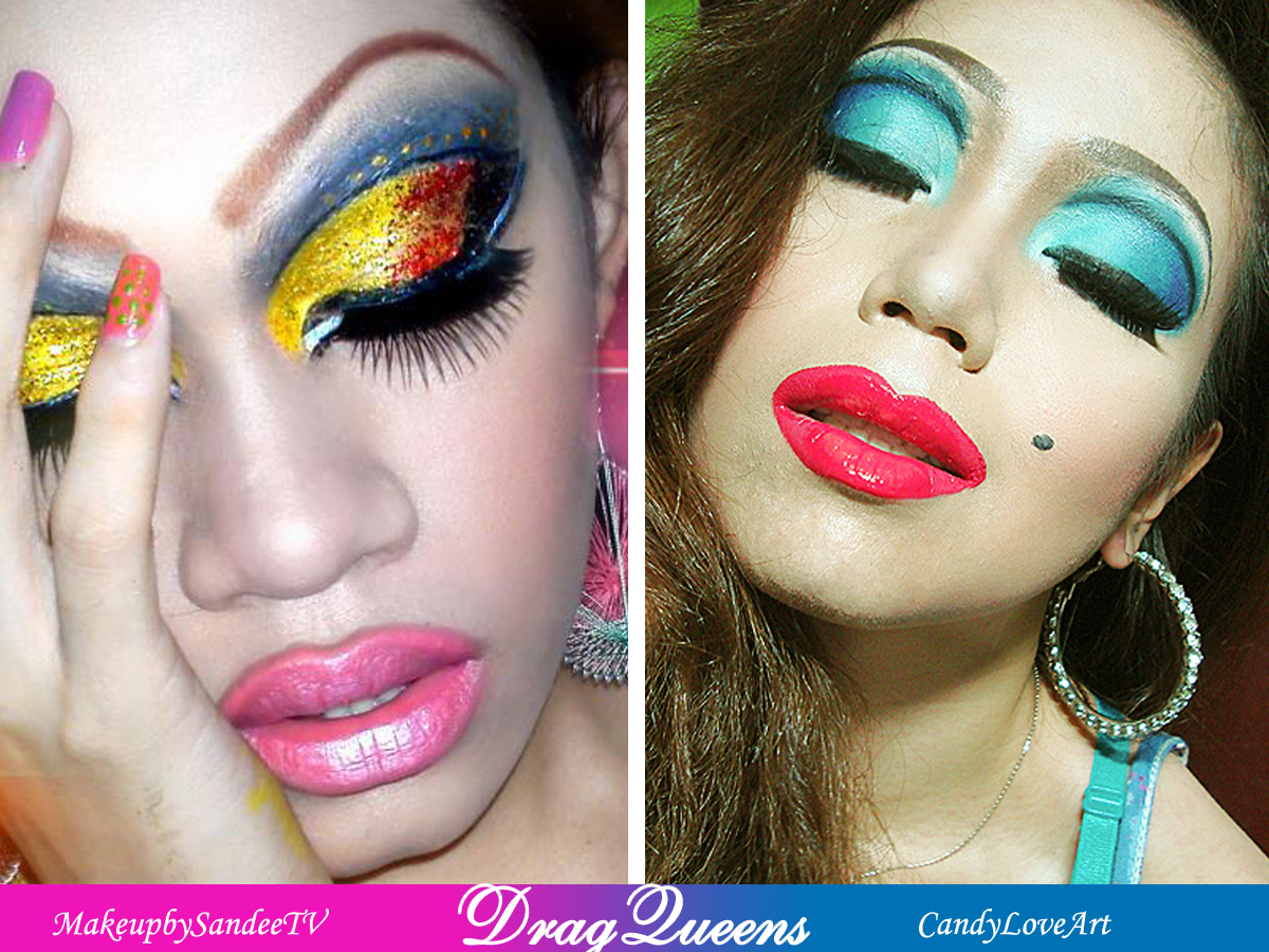 Candyloveart my drag queen makeup look a makeup collaboration candyloveart my drag queen makeup look a makeup collaboration with sandee baditri Images