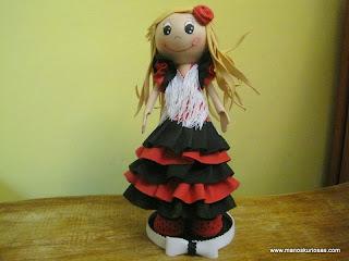 flamenca goma eva