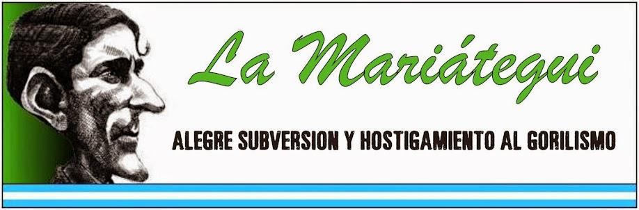 La Mariátegui - Ni calco ni copia, creación heroica