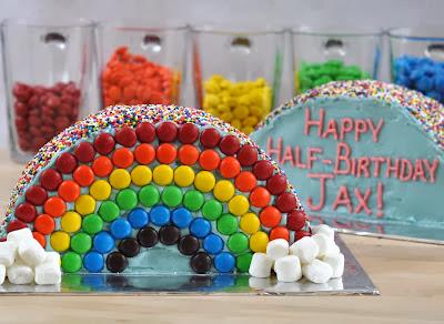 Half-Birthday Half-Cake