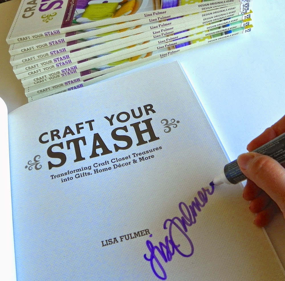 craft your stash lisa fulmer signed copy