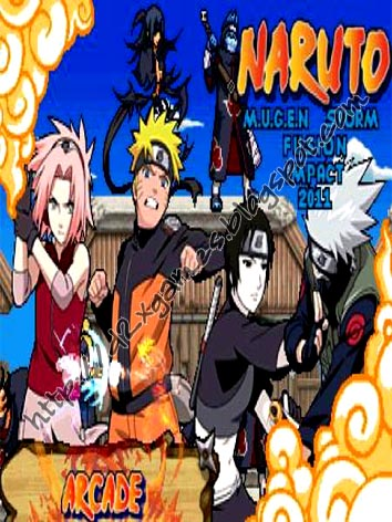 Free Download Games - Naruto Storm Fusion Impact 2011 MUGEN
