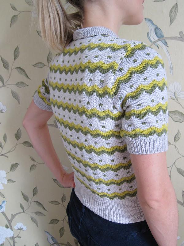 Knitting Pattern Says No Stitch : next-stitch: Vintage knitting pattern - finally finished