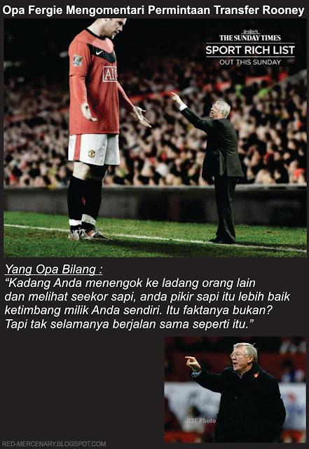 Komentar Opa: Soal Transfer Wayne Rooney