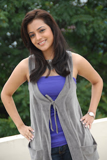 Nisha Agarwal Cute In Blue Dress Pictures