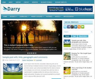 Darry-Blogger-Template